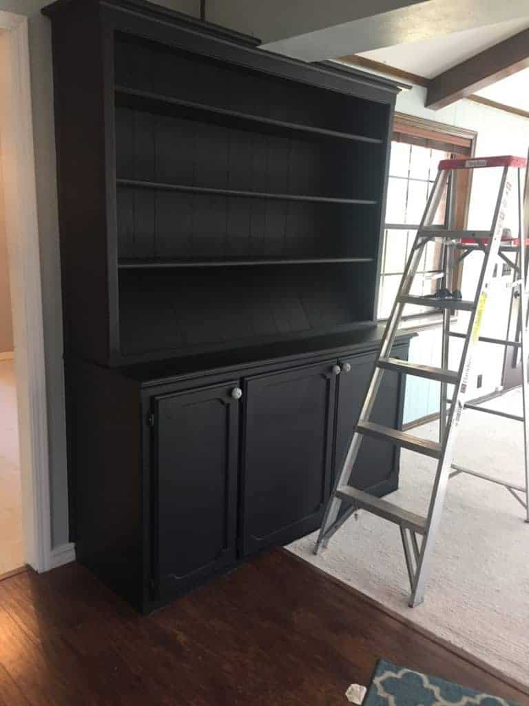 Beautiful Built-in Hutch Makeover 2