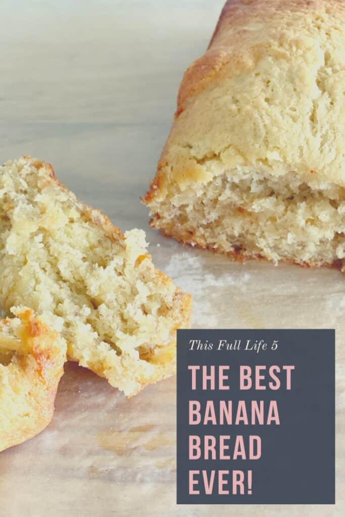 The Best Banana Bread EVER! 3