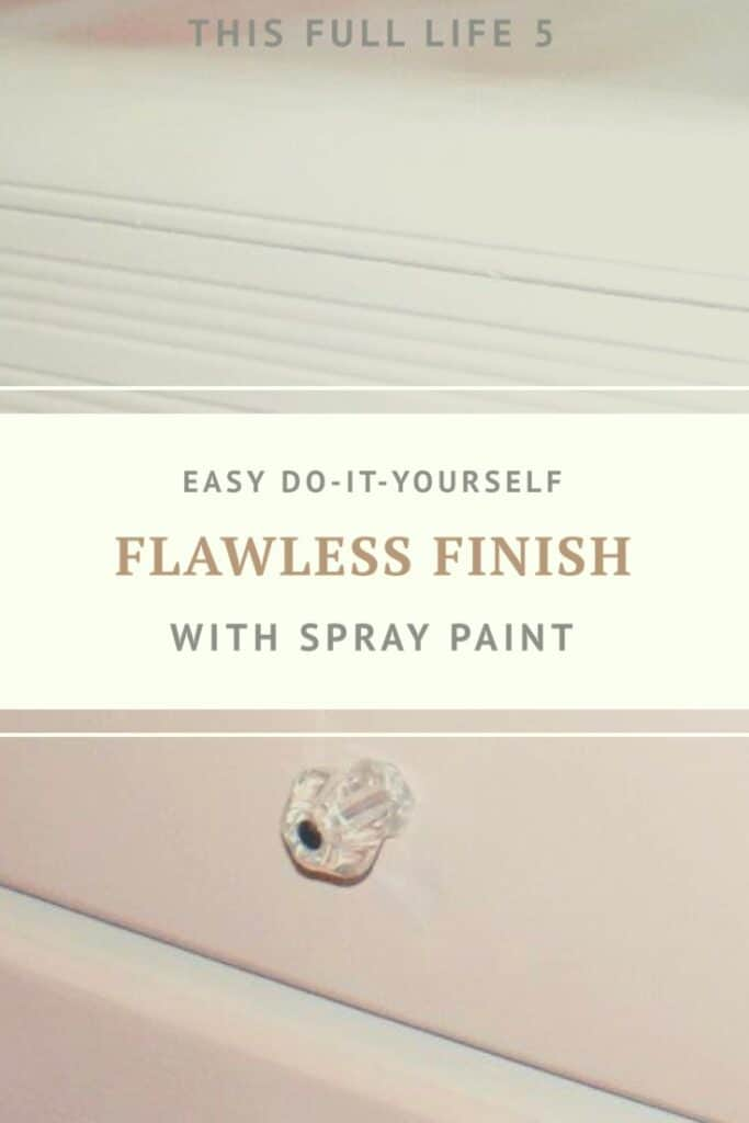 Spray Paint: Four Steps to Achieving a Beautiful Finish 4