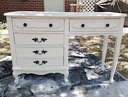 French Provincial style desk