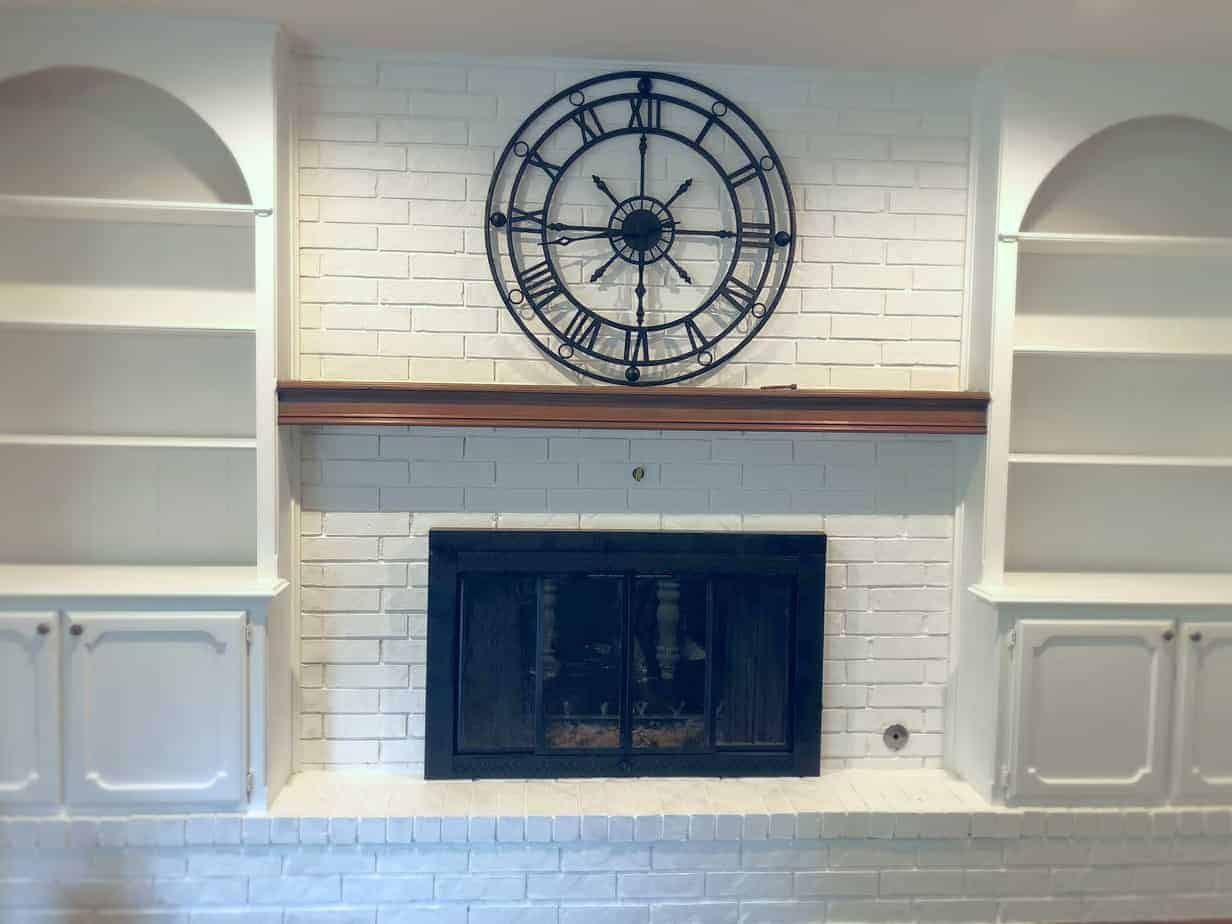 Transforming Your Fireplace in a Weekend: Part 3 7