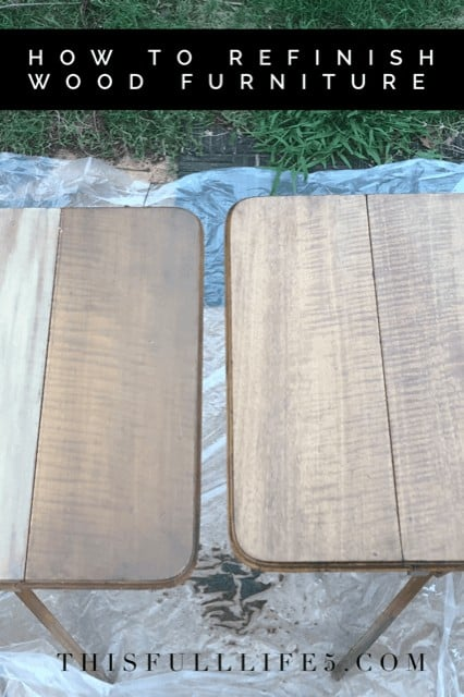 How to Easily Refinish Wood Furniture 18