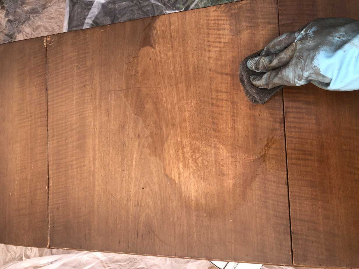 How to Easily Refinish Wood Furniture 7