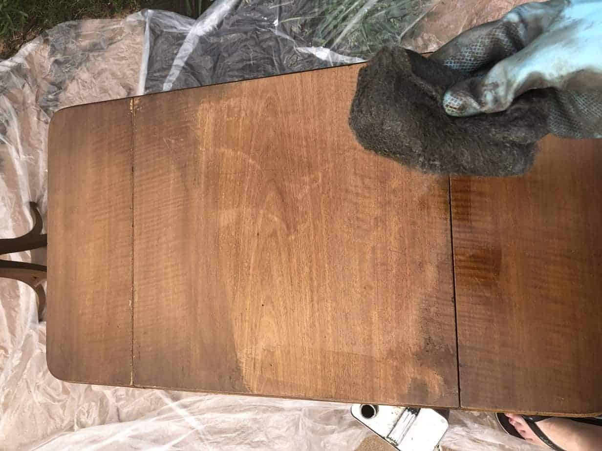 How to Easily Refinish Wood Furniture 8
