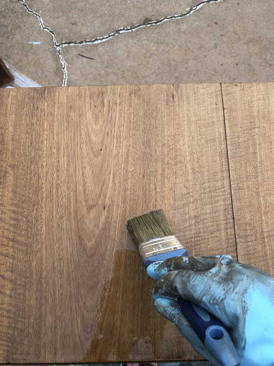 How to Easily Refinish Wood Furniture 13