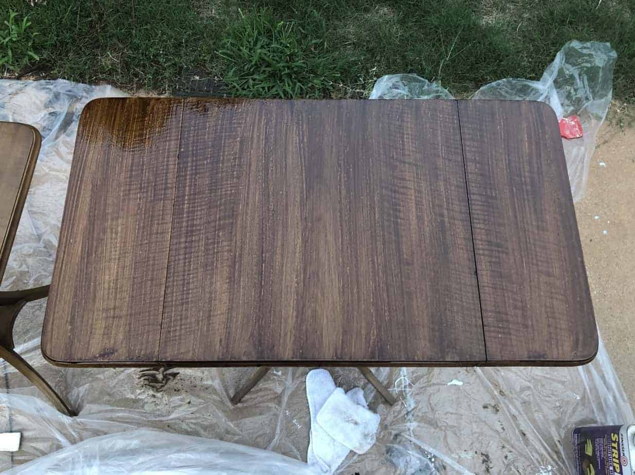 How to Easily Refinish Wood Furniture 16