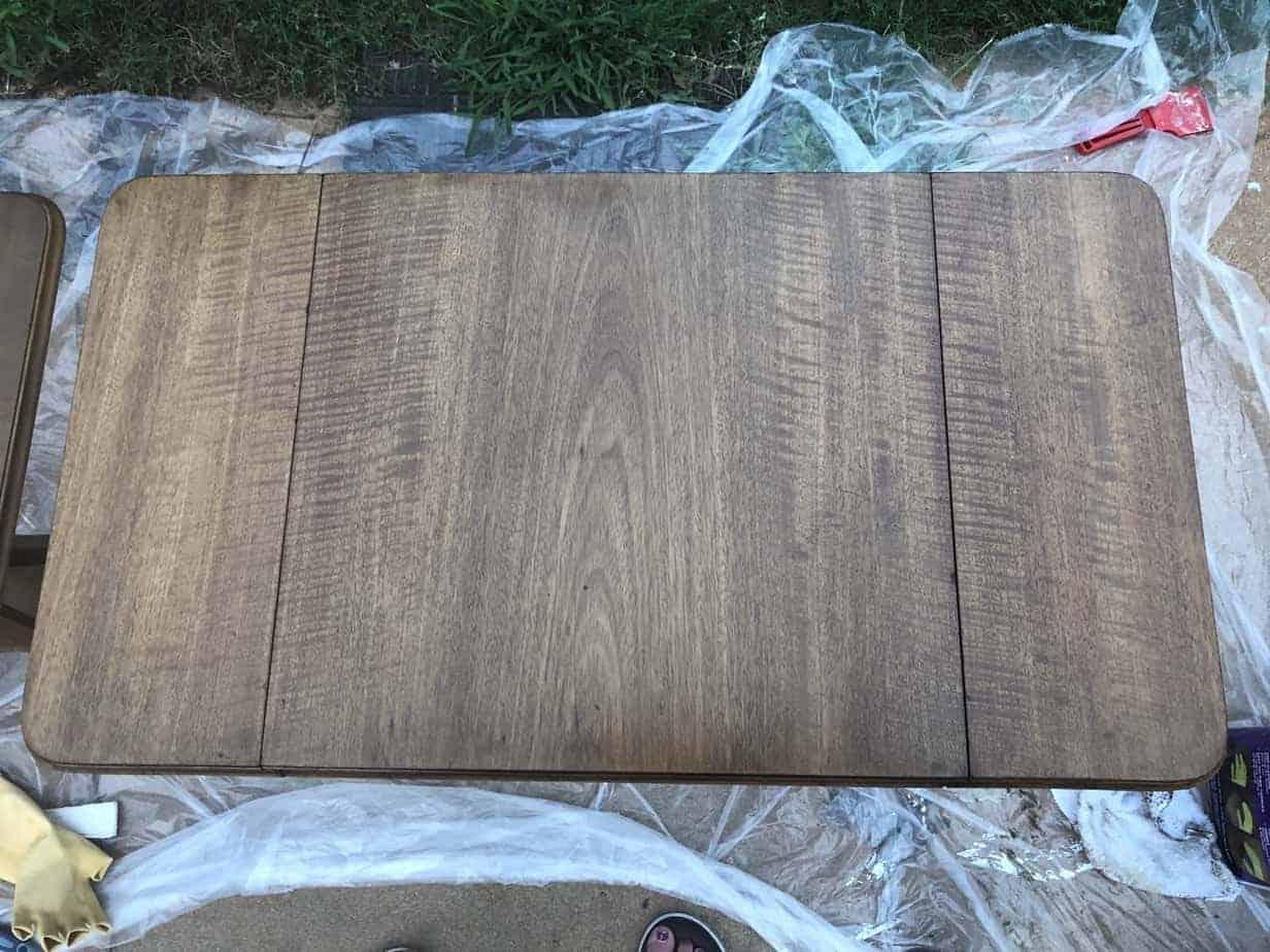 refinish wood tables