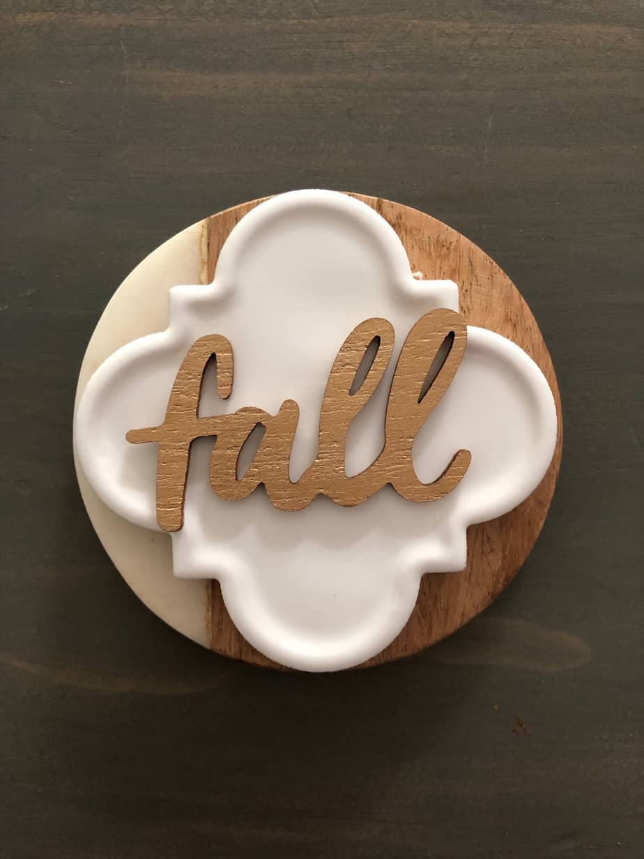 DIY Fall Place Setting Decor 7