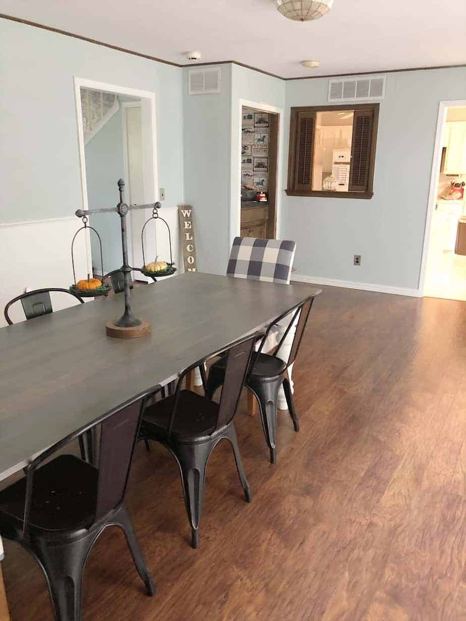 Beautiful Farmhouse Dining Room Makeover 7