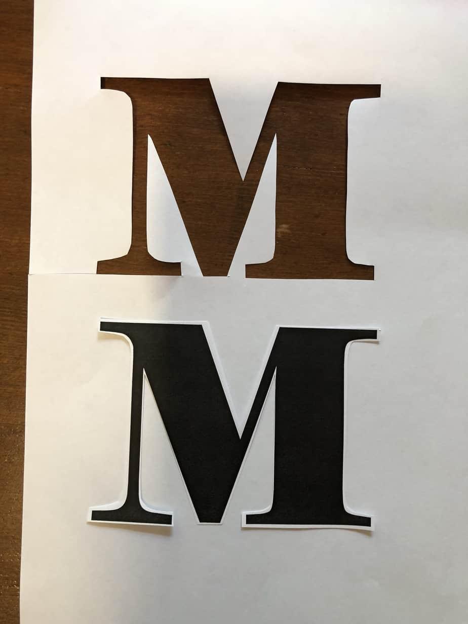 Easy DIY Stencil Wood Sign 1