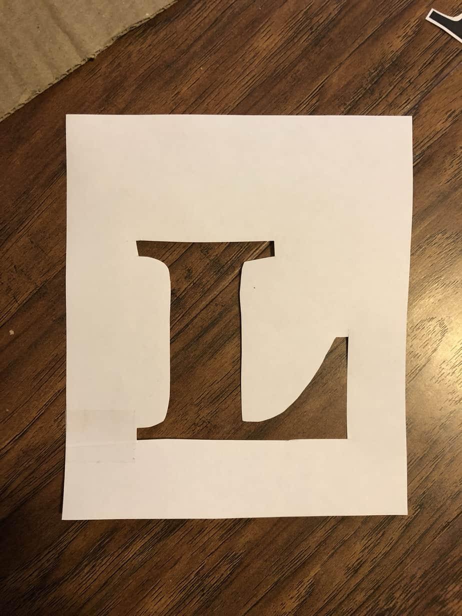 Easy DIY Stencil Wood Sign 2