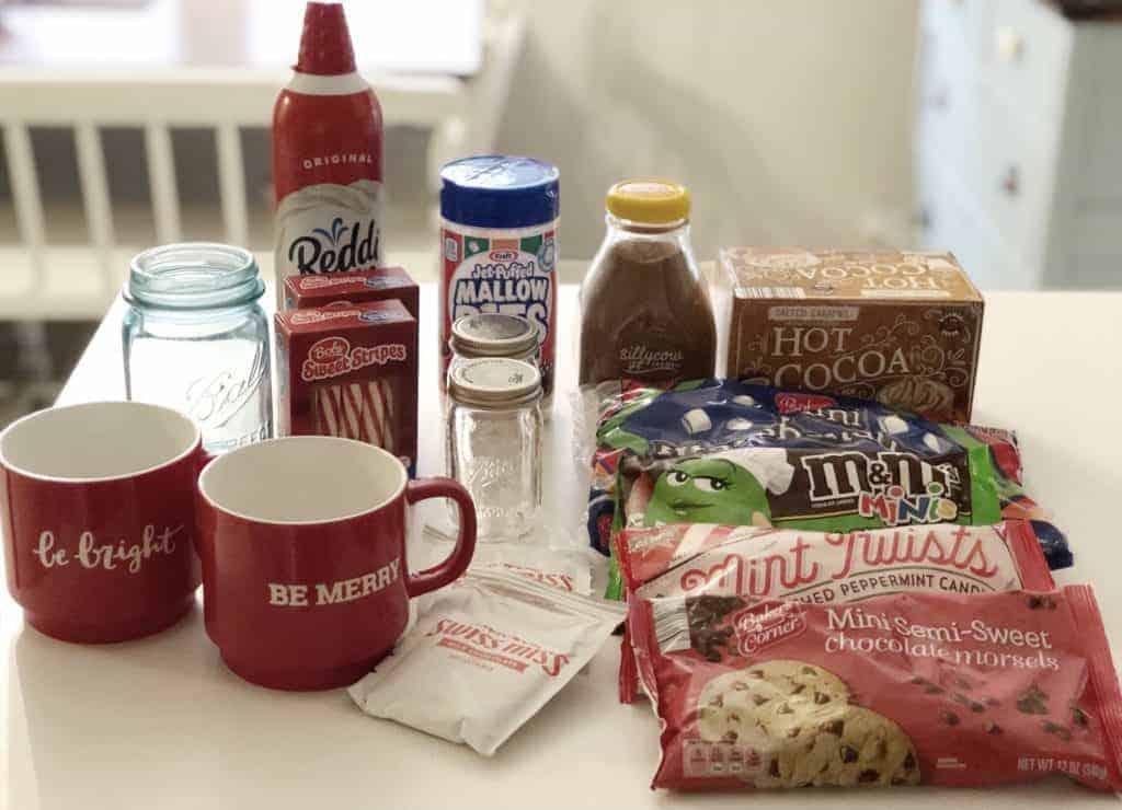 hot chocolate bar ingredients