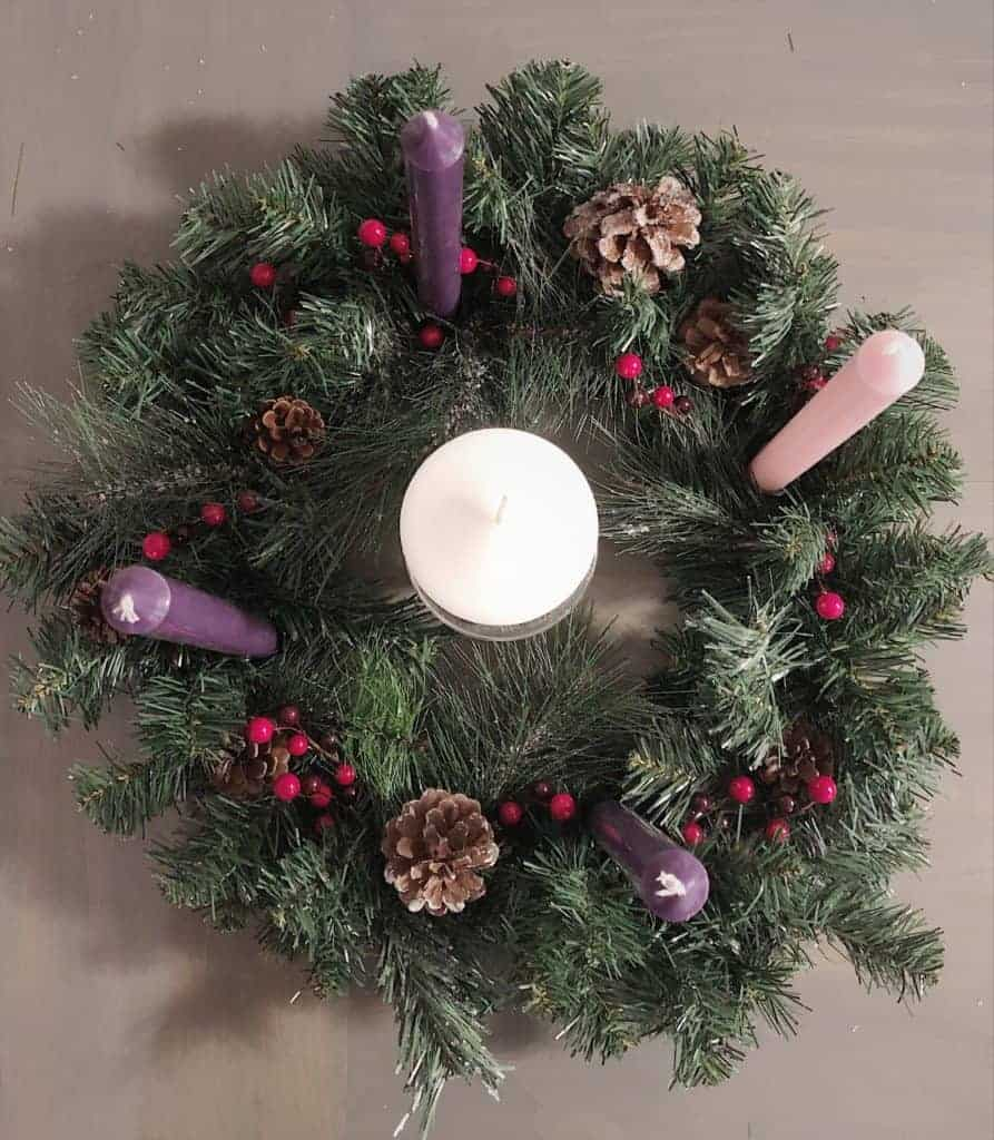 candles for advent wreath