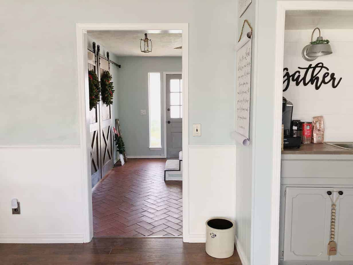 Front Door Makeover with Krylon Frosted Glass