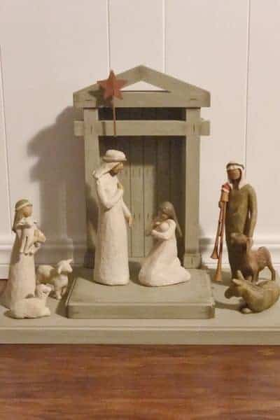 Christ's candle advent