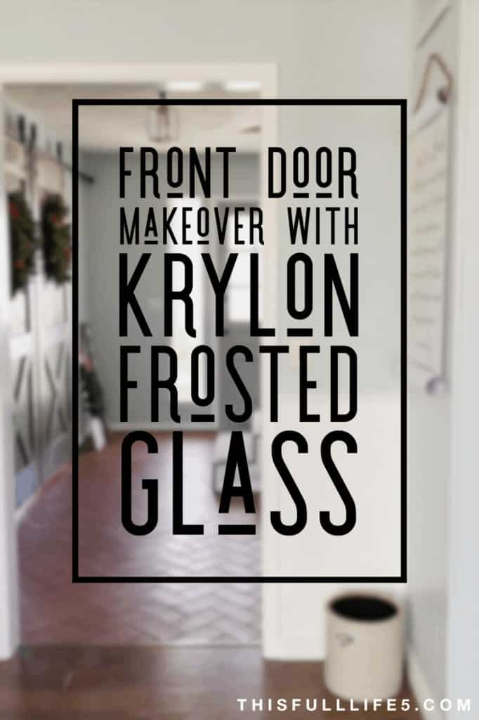 pin image for front door makeover