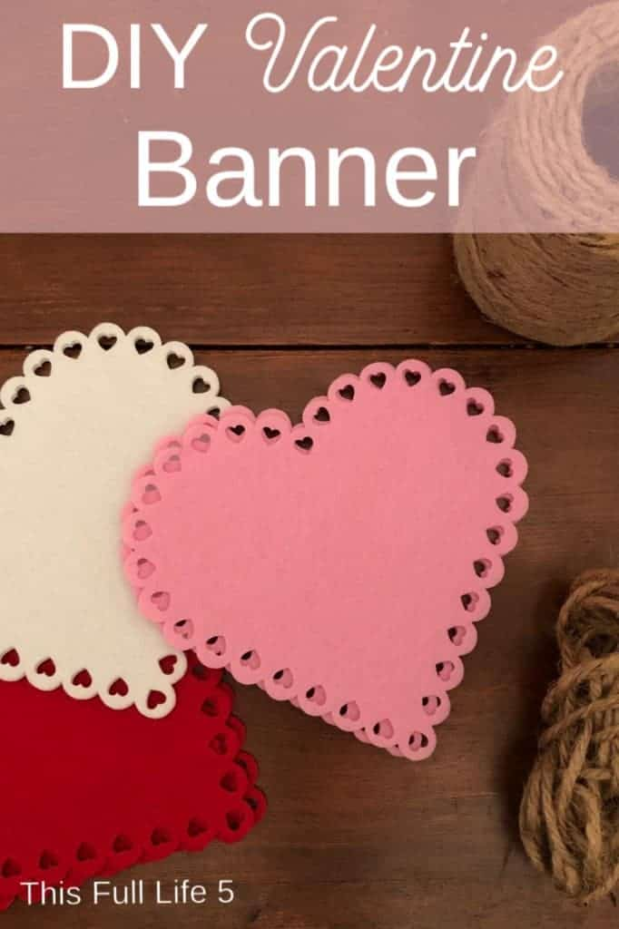 pin image for valentine banner