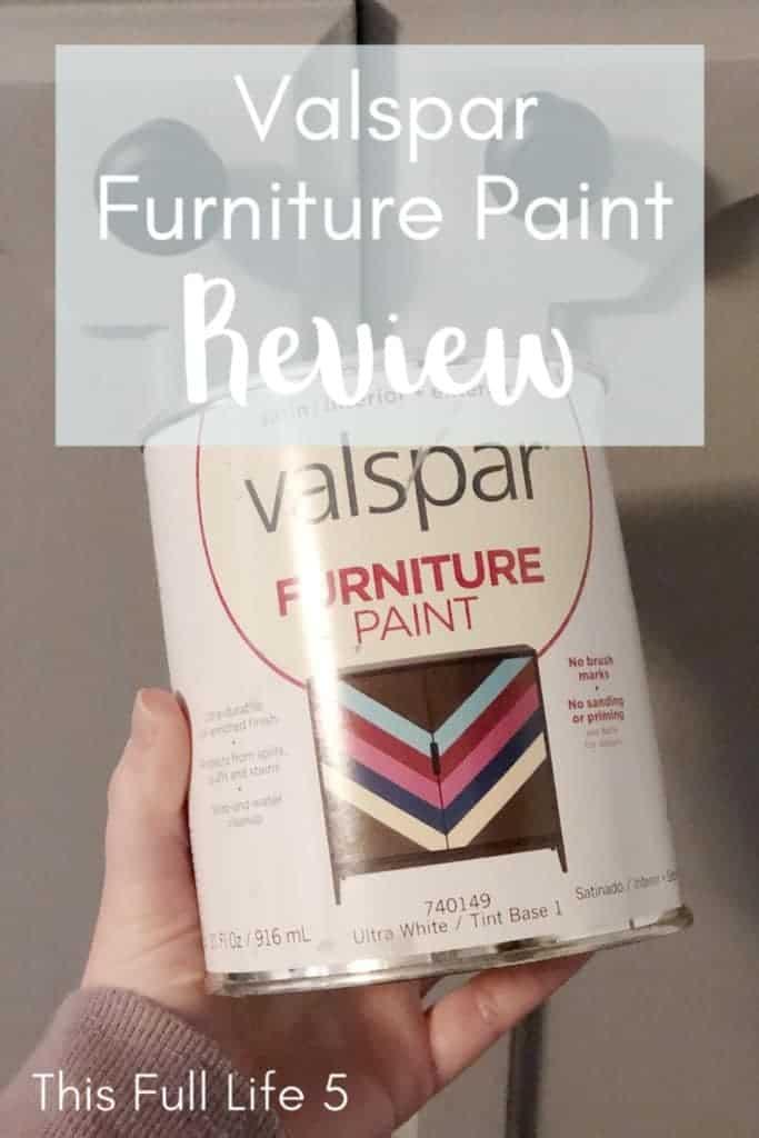 Valspar Furniture Paint pin image