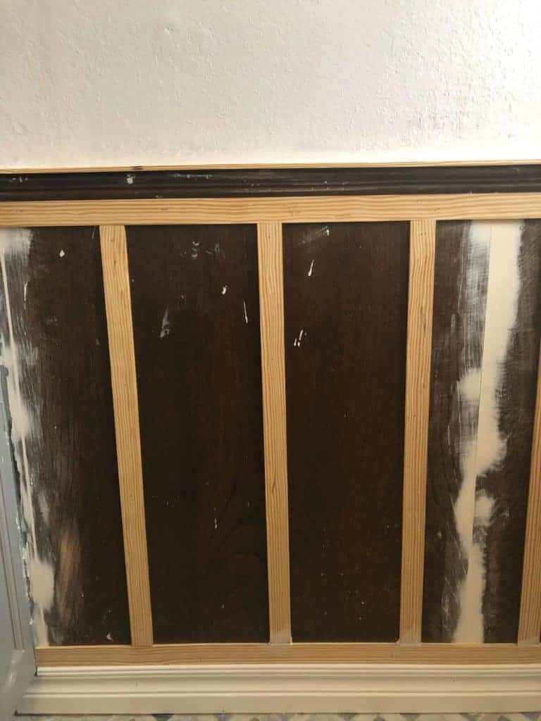 verticle trim for board and batten