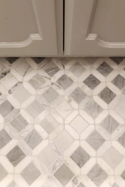 tile after grout