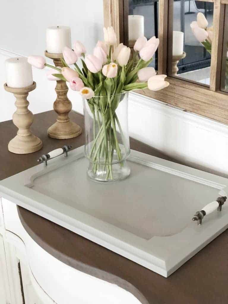 tray from cabinet doors