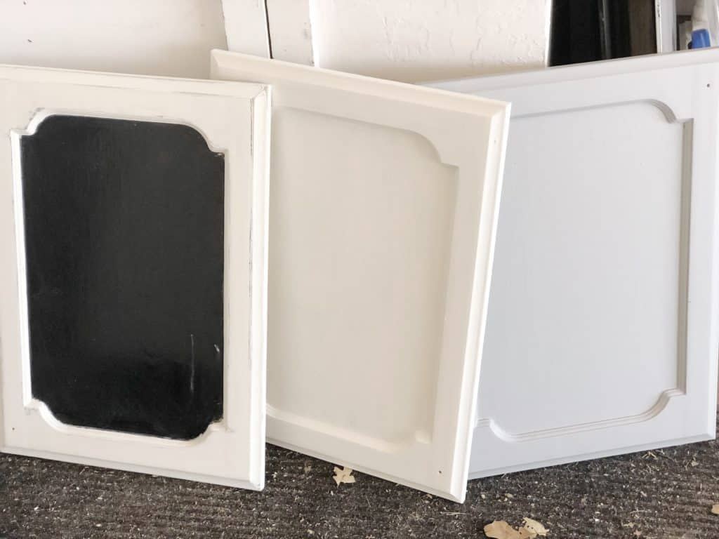 cabinet doors painted
