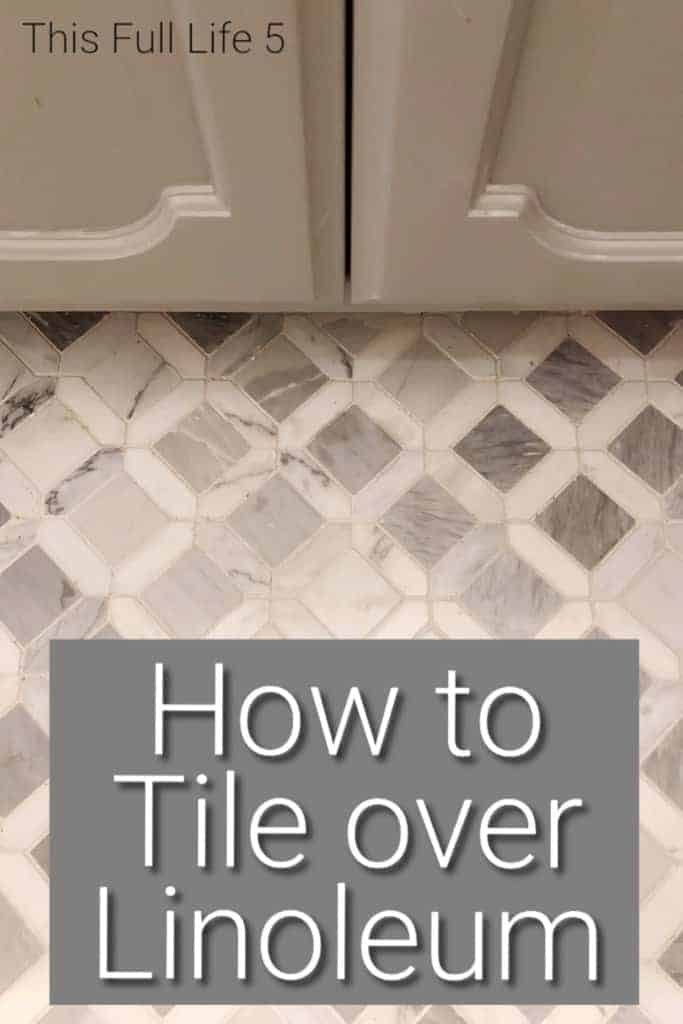 pin image for tile over grout
