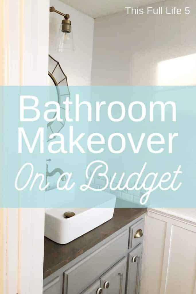 1970s Ugly Guest Bathroom Gets a Makeover! 1