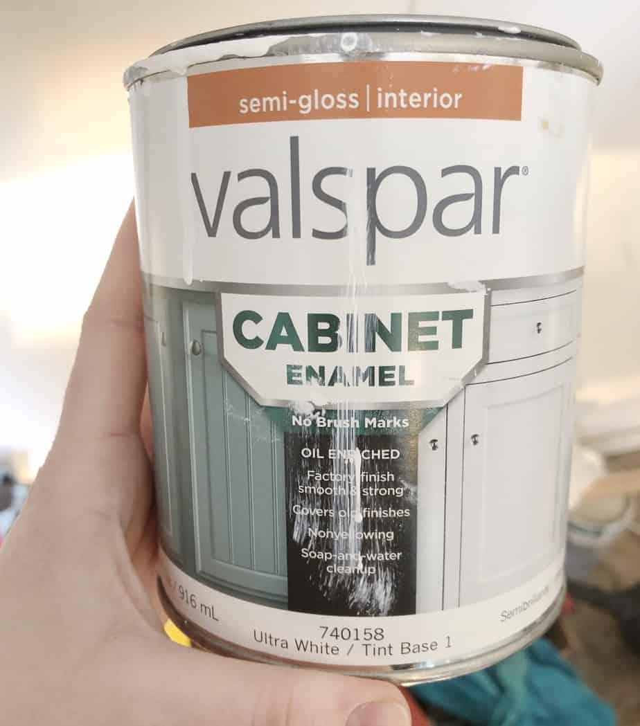 Valspar Cabinet Enamel Paint Review