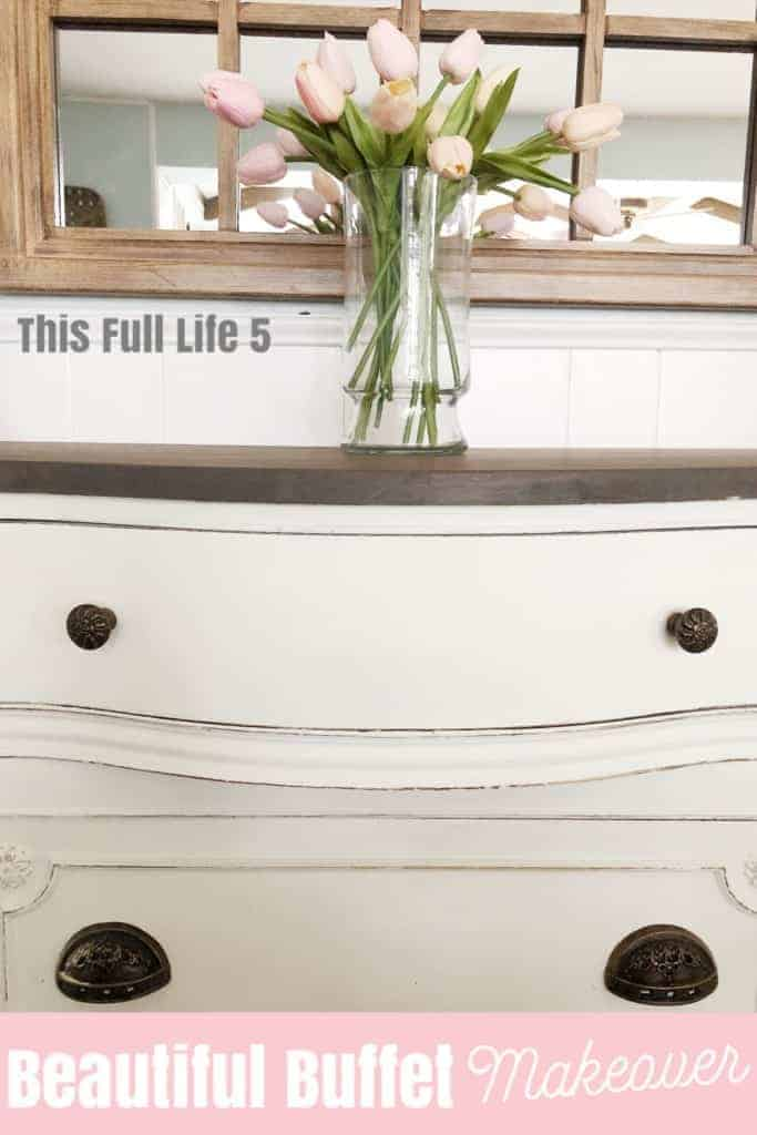 Beautiful Buffet Makeover