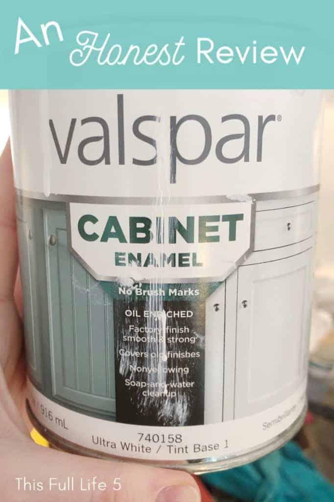Valspar Cabinet Enamel Review