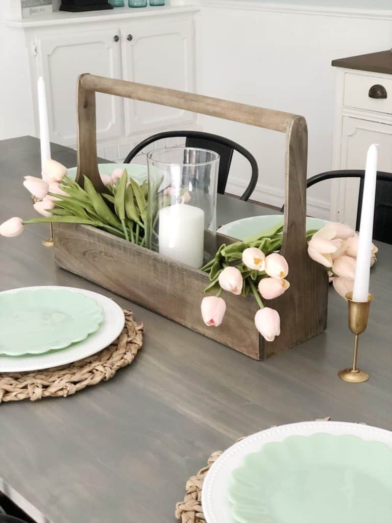 Spring Tablescape Tour 1