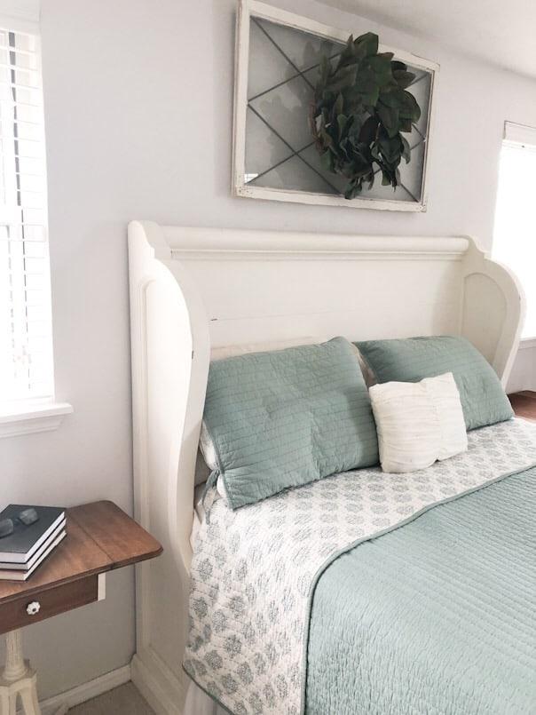 blinds in master bedroom
