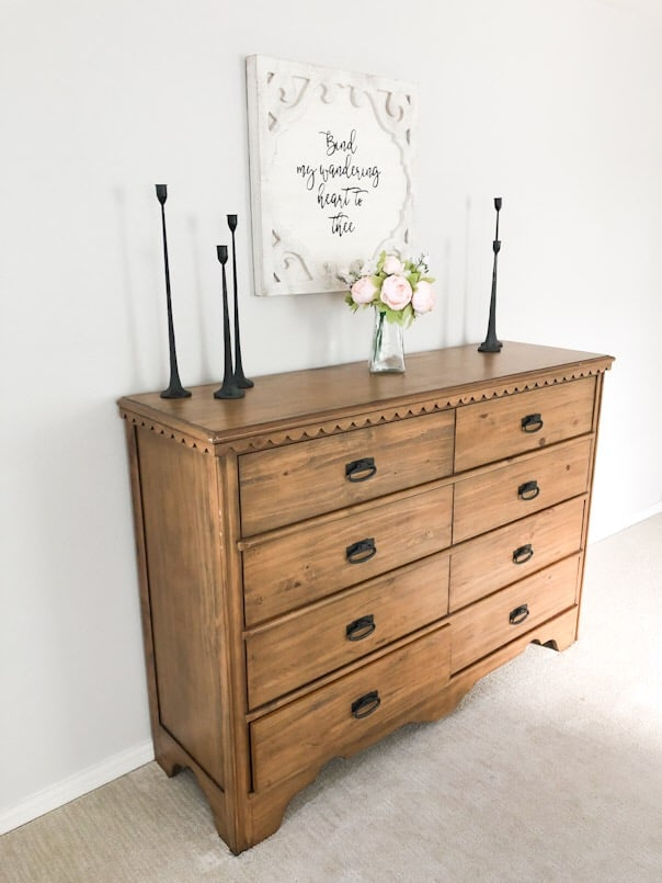 Magnolia Dresser in Master Bedroom