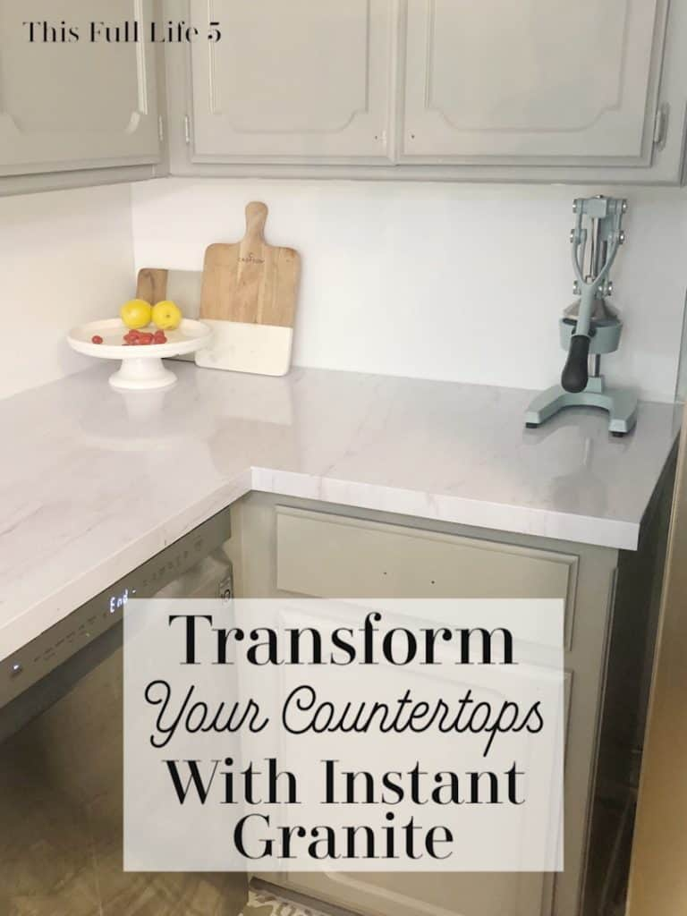 Transform Your Countertops with Instant Granite