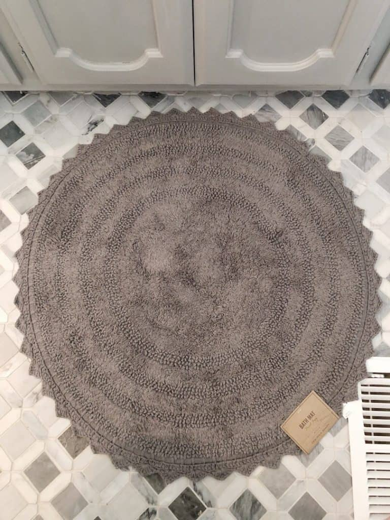 World Market bath rug