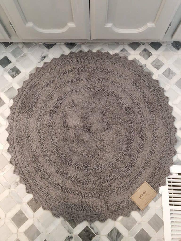 World Market bath rug