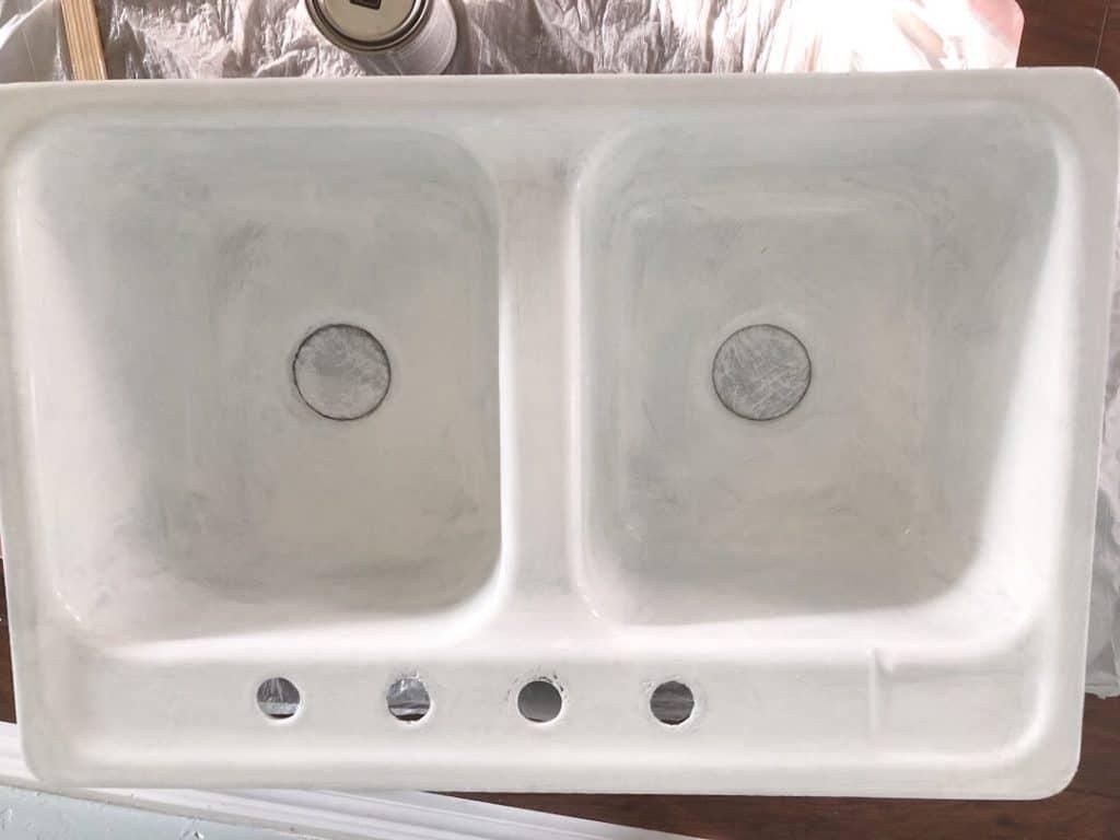 resurface kitchen sink