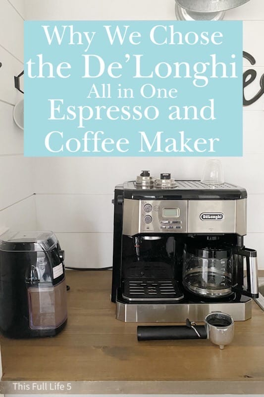 De'Longhi All in One Espresso and Coffee Maker