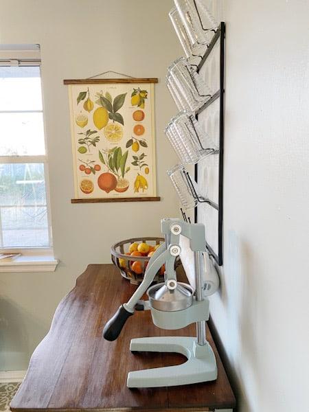 DIY Citrus hanging poster