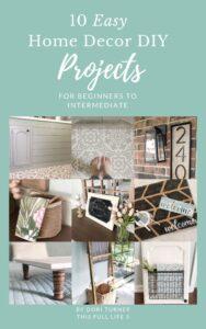 DIY Home Decor Project Book