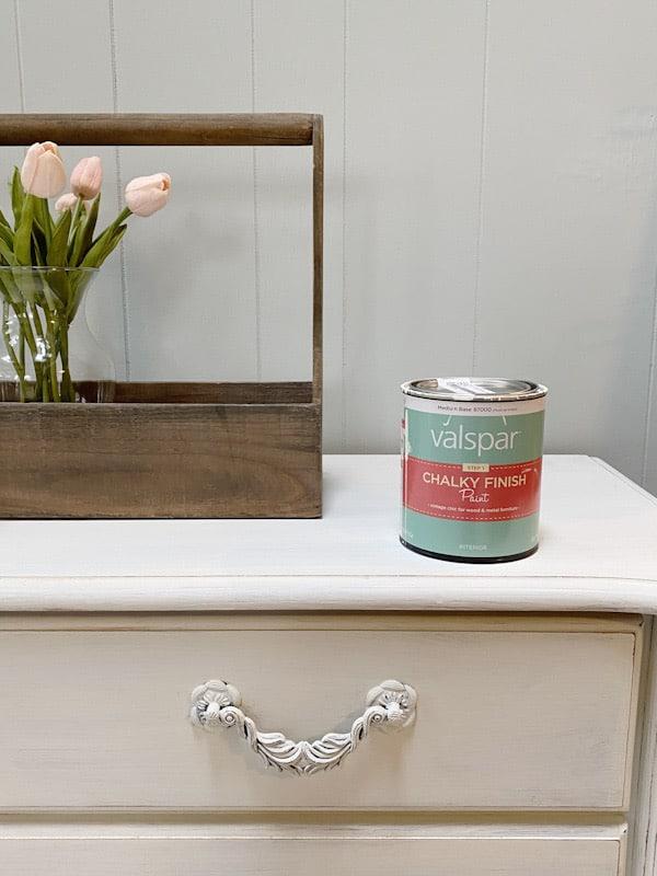 Valspar Chalk Paint Review + Cedar Chest Makeover