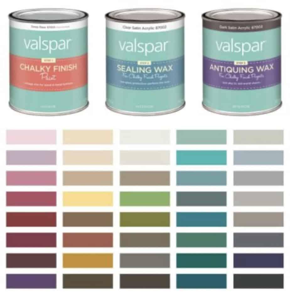 Valspar Chalk Paint Review + Cedar Chest Makeover 5