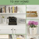 15 Ways to add Vintage Farmhouse Style to any Home 1