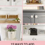 15 Ways to add Vintage Farmhouse Style to any Home 2
