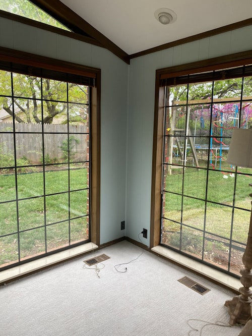 large windows