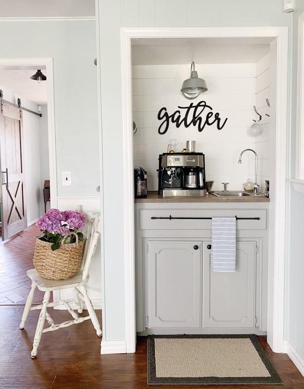 perpetual gray coffee bar