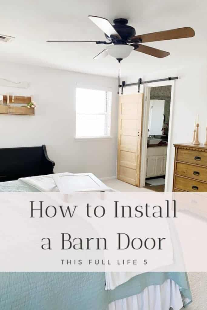How to Install a Barn Door Like a Pro 6
