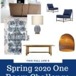 One Room Challenge Spring 2020 - Living Room Week 1 1