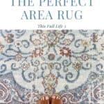 area rug pin